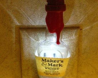 Maker's Mark Whisky Night Light