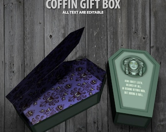 The Haunted Mansion Coffin Gift Box