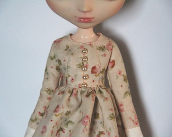 Early flowering - 1/6 doll dress