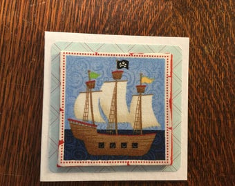 Fabric Pirates Card's - see variations