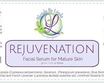 Rejuvenation Facial Serum - 1 oz.