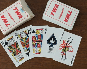 TWA Deck of Playing Cards