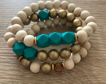Turquoise tribal stack