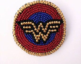 Wonder Woman pin/brooch/popsocket