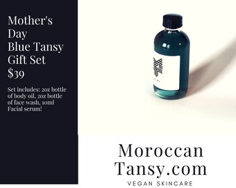 Mother's Day Blue Tansy Gift Set!  Special Promo for Mother's Day