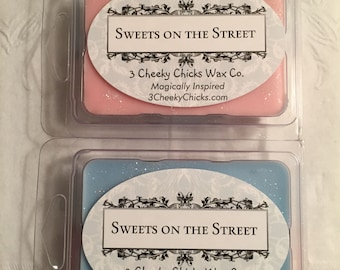 Sweets On The Street Wax Melts, Disney Inspired, Main Street USA, Cotton Candy