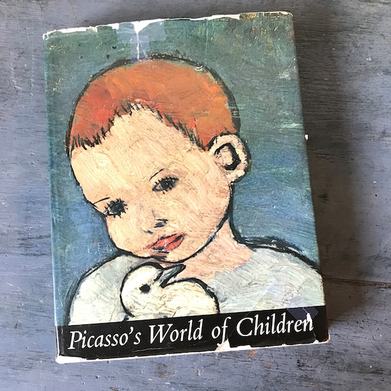 Picasso's World of Children - vintage art book - art history - Pablo Picasso - 20th Century art - Helen Kay - cubism abstract - 1965