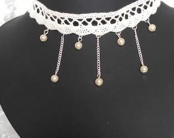 Ivory Choker necklace
