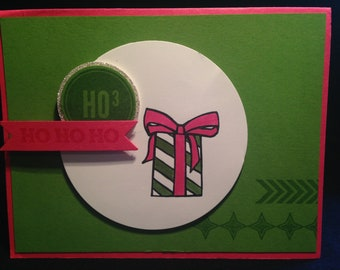 Winter Holiday greeting card