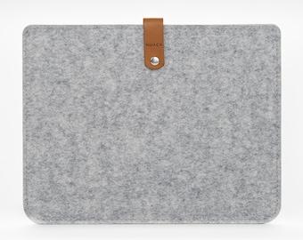 iPad Pro Sleeve - iPad Pro Case - iPad 12,9 Cover - iPad Pro Leather - Felt Case iPad
