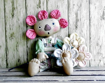 CF 230 SWEET PEA - Flower Doll E-Pattern