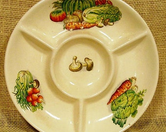 Vintage Hors d'oeuvre Plate