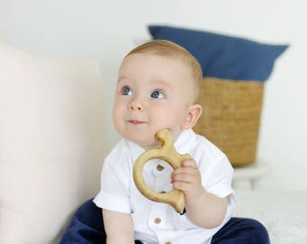 Handmade wooden toy, Wooden toy, Baby toy, Baby shower gift, Baby gift, Teething toy, Organic baby toy, Wooden baby toy