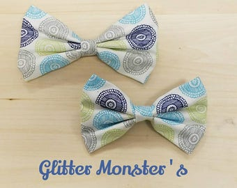 Buttons Bow Tie, Infant-Adult Bow Tie, Ring Bearer Bow Tie, Groomsmen Bow Tie, Summer Wedding Bow Tie, Birthday Boy Bow Tie, 1st Birthday