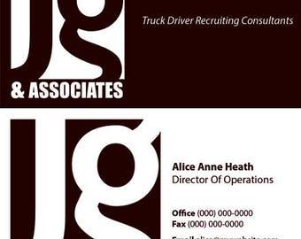 Business, cards, custom, design, unlimited, digital,