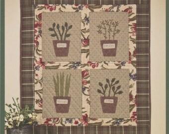 Herb Garden Quilt Pattern by Renée Plains, Liberty Star