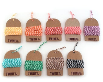 Bakers Twine (Choose 6 Colors)