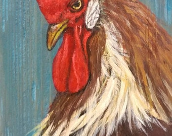 Red Rooster, Original Art