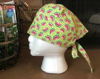 Watermelon Slices Scrub Hat