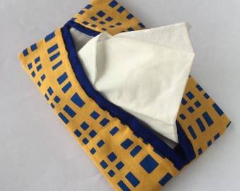 Yellow Broadway Pocket Tissue Pouch