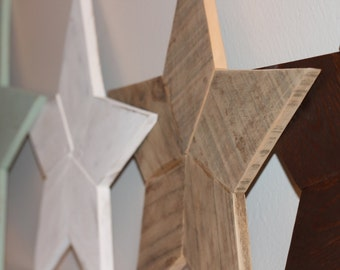 Reclaimed Wood Star - Wooden Star - Star Wall Art