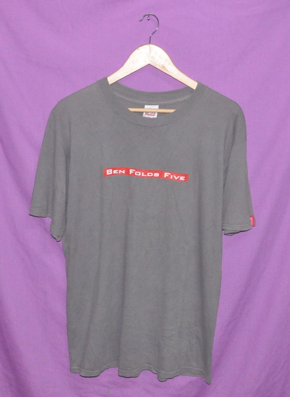 Vintage Tour T Rock Folds Band 90s Concert Shirt Ben Alternative Five wq7B6w