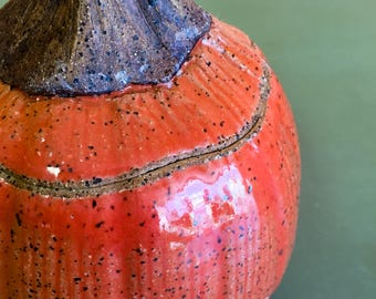 Ceramic Pumpkin Fall Decoration for Halloween, Samhain, Thanksgiving