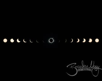 Solar Eclipse 2017 Photo, Fine Art Print