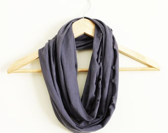 Organic Infinity Scarf - GREAT GIFT - Many Colors Available - Organic Cotton Blend
