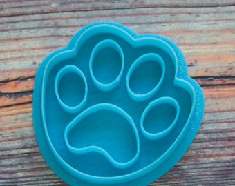 "Cookie cutter stamp ""Dog Paw"" 6 cm"