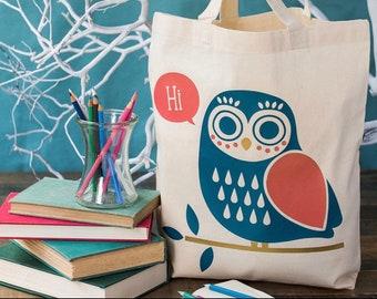 Owl Tote -Hi