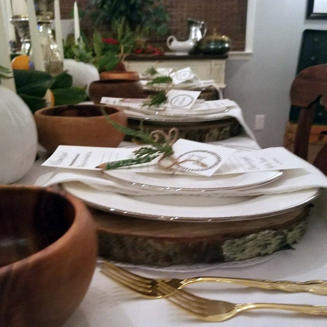 Crafts For Weddings Rustic: 6 Wood Slices 10 To 12 Rustic Wedding Centerpieces Crafts