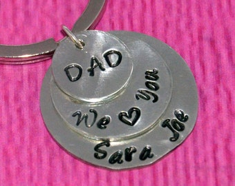 Father's Day Gift | Gift for Dad | Gift Father's Day | Key Chain Gift | Gift for Dad from Daughter | Daddy Gift from Daughter | Key Chain
