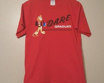 D.A.R.E Red shirt