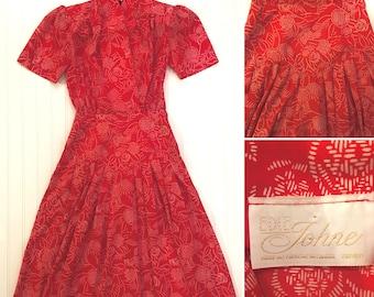 Vintage Day Dress