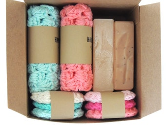 Mothers Day BOX Gift For Mom Gift For Her Handmade Soap Natural Soap Birthday Gift Mothers Day Gifts Homemade Soap Gift Set Gifts For Her
