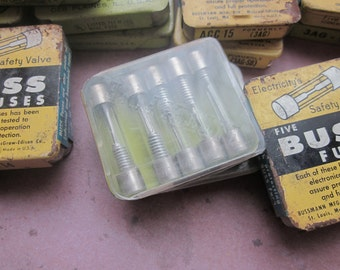 Vintage Box of Small Fuses