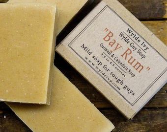 Bay Rum Handmade Men's Soap