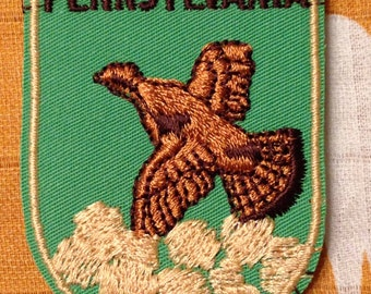 Pennsylvania Vintage Travel Patch by Voyager