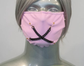 Light Pink J-Rock Surgical Mask