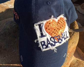 I Heart Baseball Cap