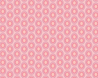 Oval Elements in Parfait Pink by Art Gallery Fabrics