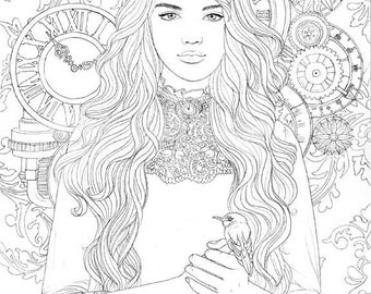 Golden Age - coloring page