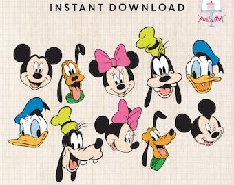 Mickey & Friends Clipart - Disney Clipart