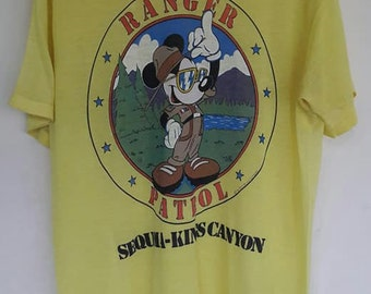 mickey mouse t-shirt vintage