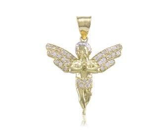 Gold Pendant & Chain Set