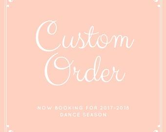 Custom (Semi-Custom) Costume Order