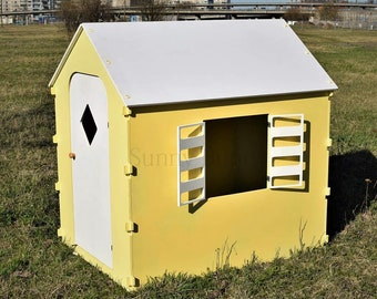 Outdoor playhouse, Playhouse,kids house, indoor playhouse, wooden playhouse