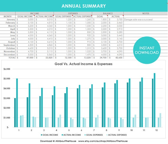 personal accounting excel