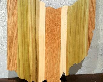 Ohio Cutting Board & Wall Art